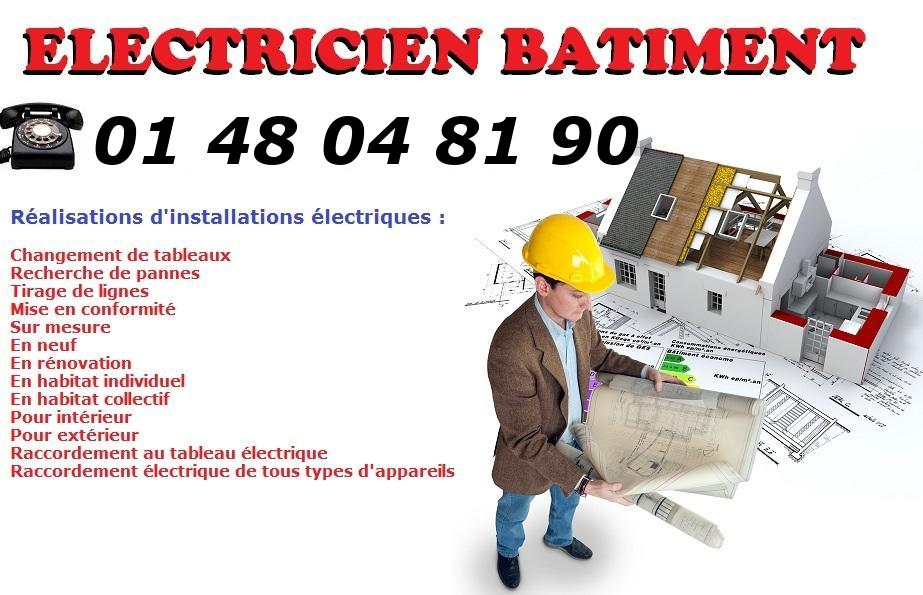 Electricien Le Raincy